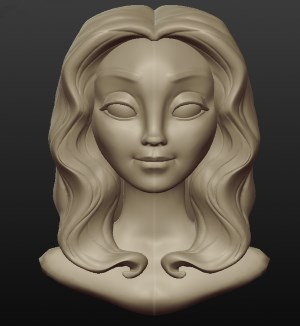 Sculptris-Woman-Head