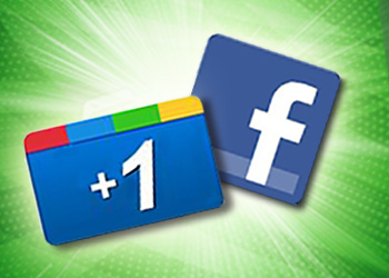 g+ and fb