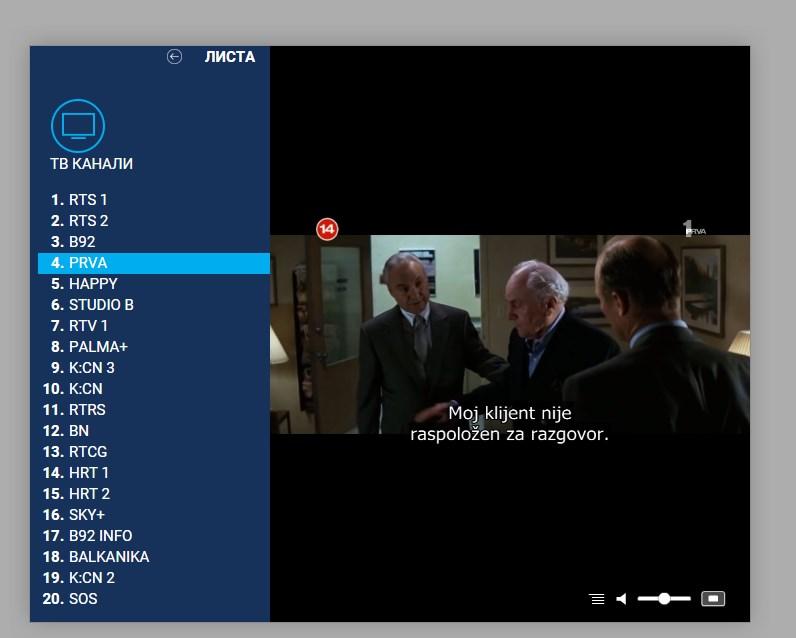 radijus vektor tv online