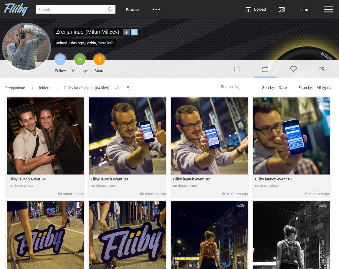 Fliiby Profile look