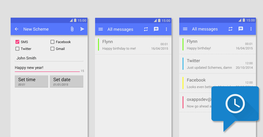 sms scheduler android app