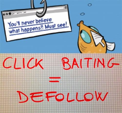 clickbaiting