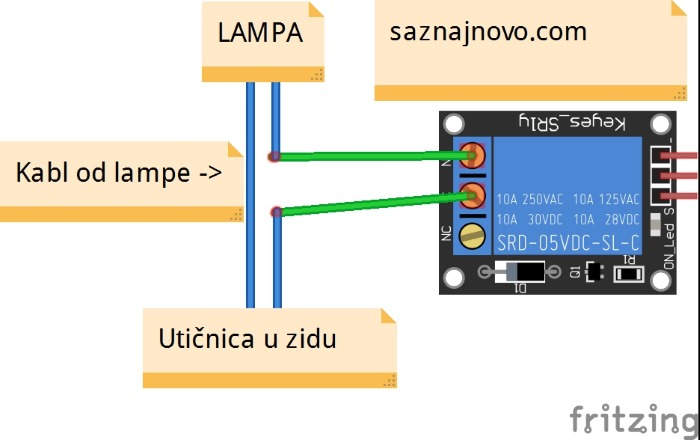 IR remote relay_bb1