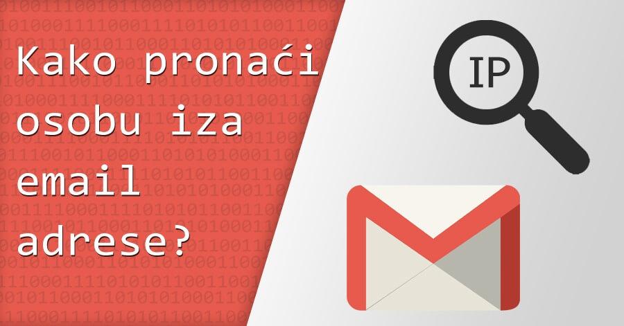 Kako pronaći nekoga na web lokacijama za upoznavanje putem adrese e-pošte