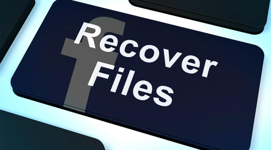 recover facebook photos messages files