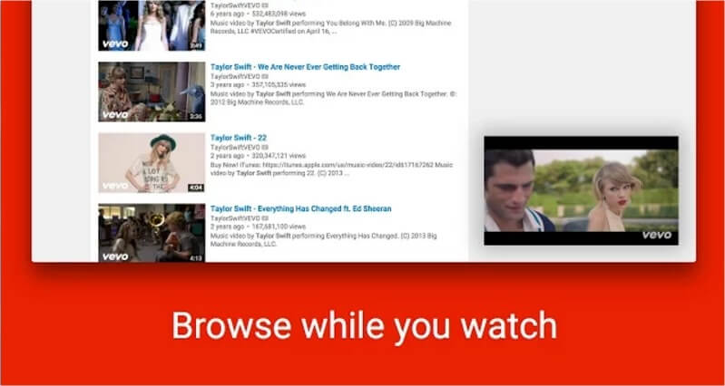 chrome youtube video picture in picture