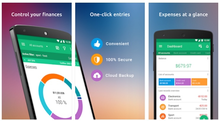 wallet budget app android