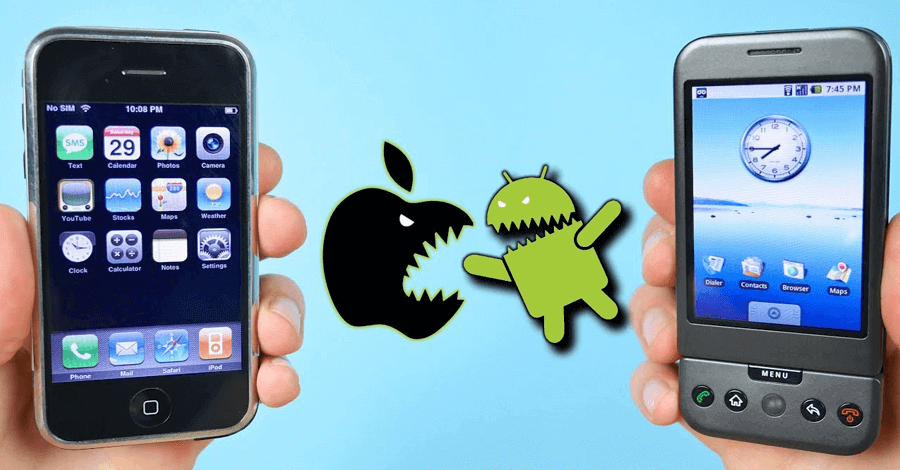 android 1 vs ios 1