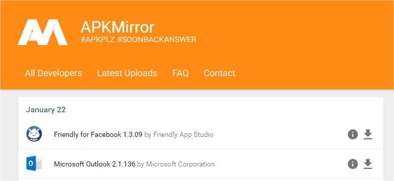 besplatne apk aplikacije bez virusa