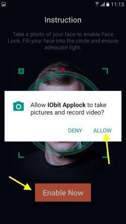 face recognition prepoznavanje lica app zakljucavanje (3)