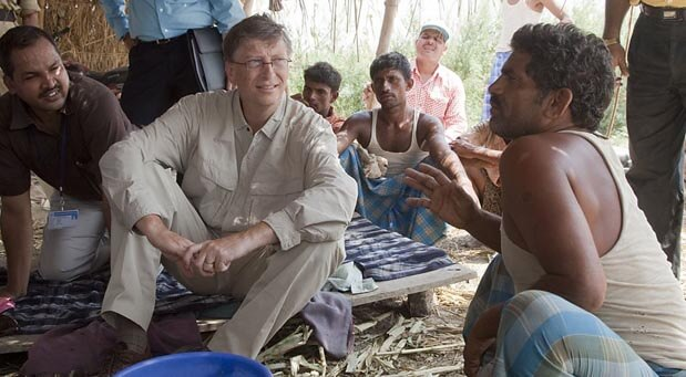 Bill-Gates-in-India