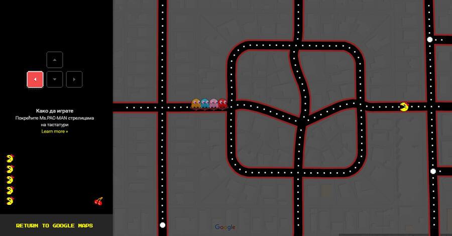 google-maps-pacman