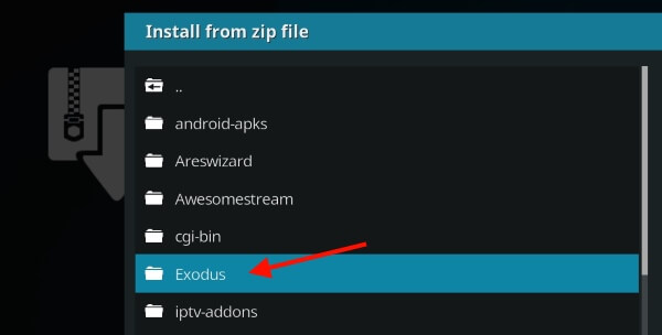 install exodus new kodi