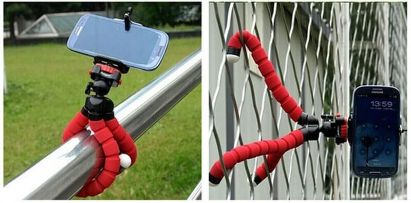 octopus tripod phone