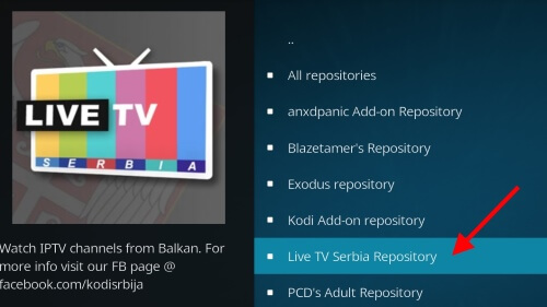 Kodi - Addons Live-tv-serbia-kodi-addon-5