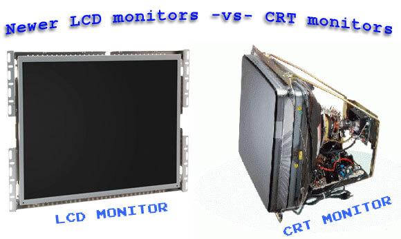 crt-vs-lcd monitor