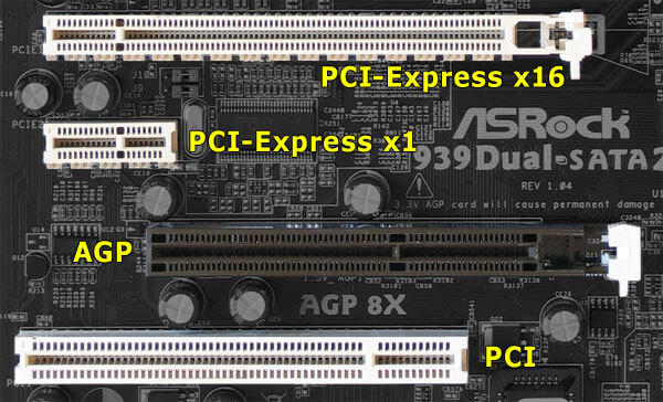 pci x16 express slot