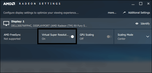 supersampling amd settings vsr