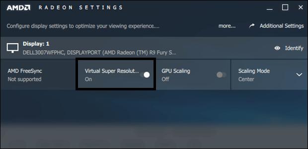 supersampling amd settings vsr