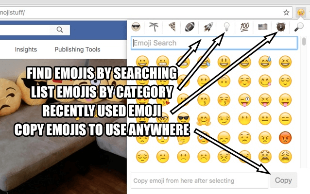 emoji search for chrome