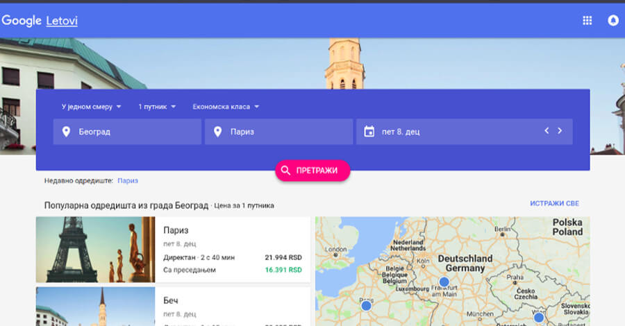 google flights redizajn search 17