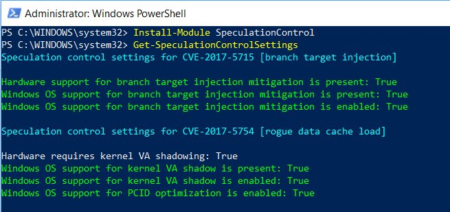 Meltdown+Spectre-Powershell-OK