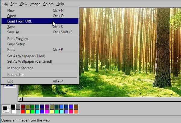 paint u browseru