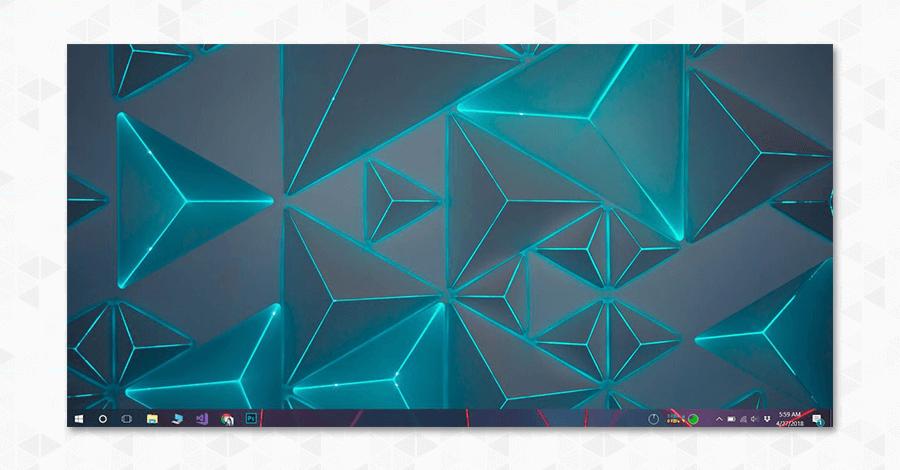 taskbar image background