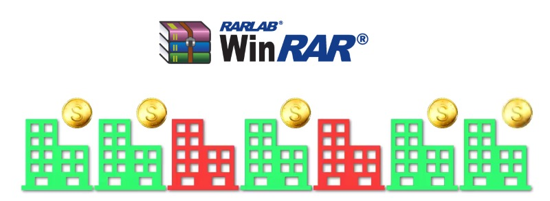 winrar free trial revenue