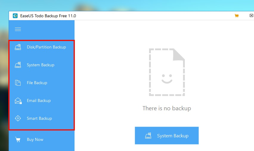easeus backup free windows