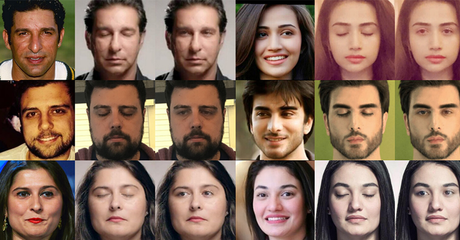 facebook ai closed eyes