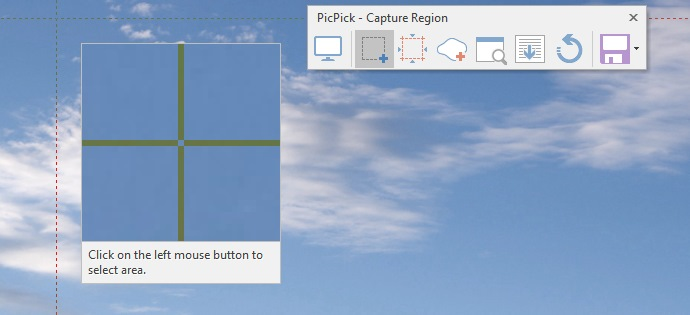 picpick region capture