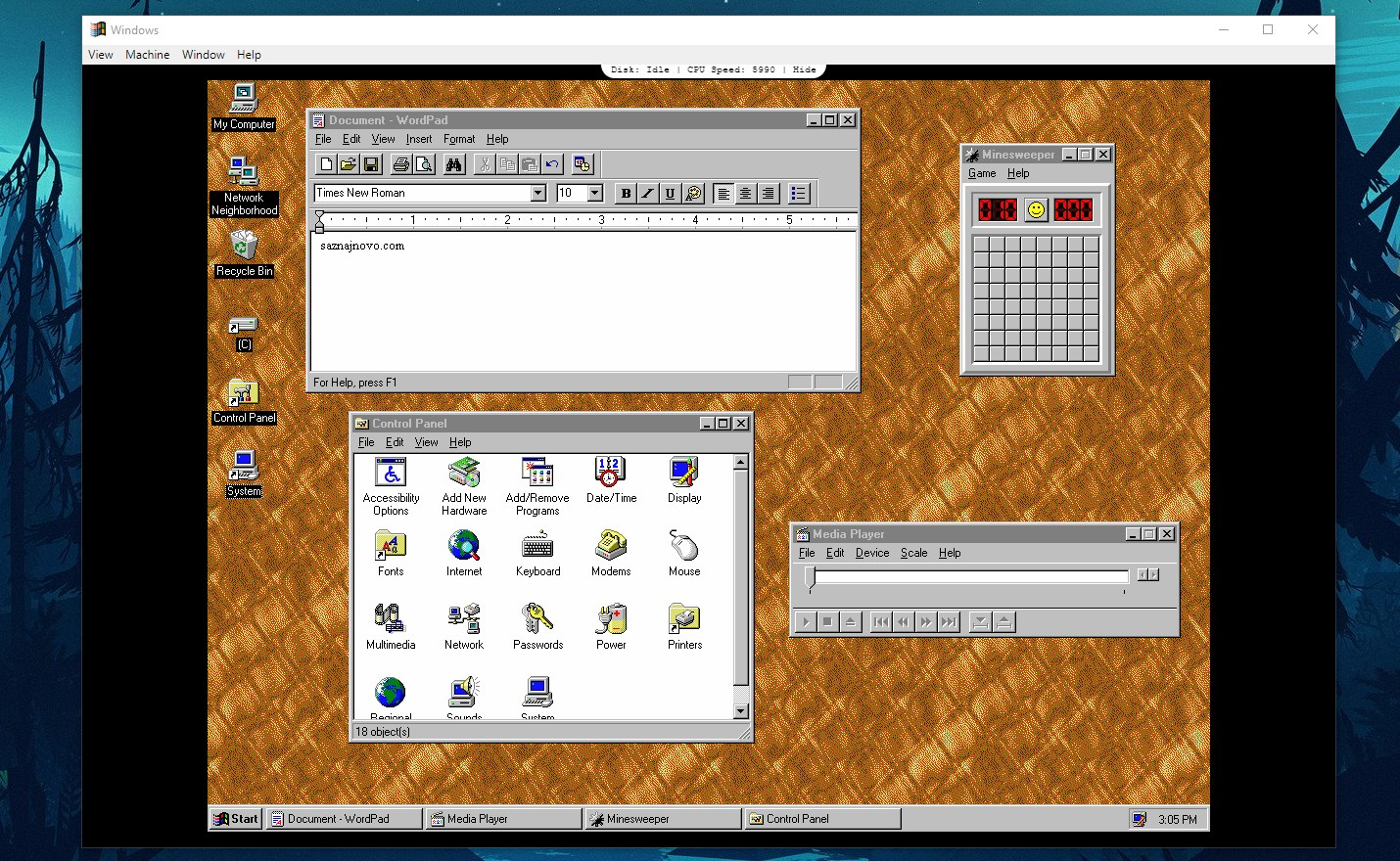 windows 95 app sc