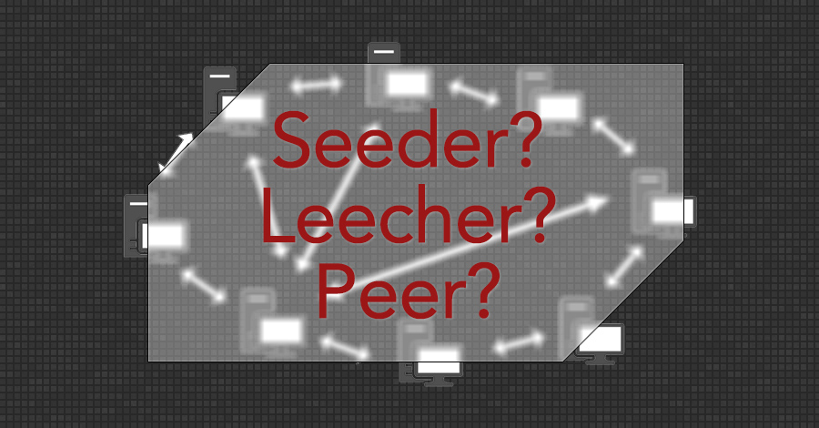 seeder leecher peer torrent