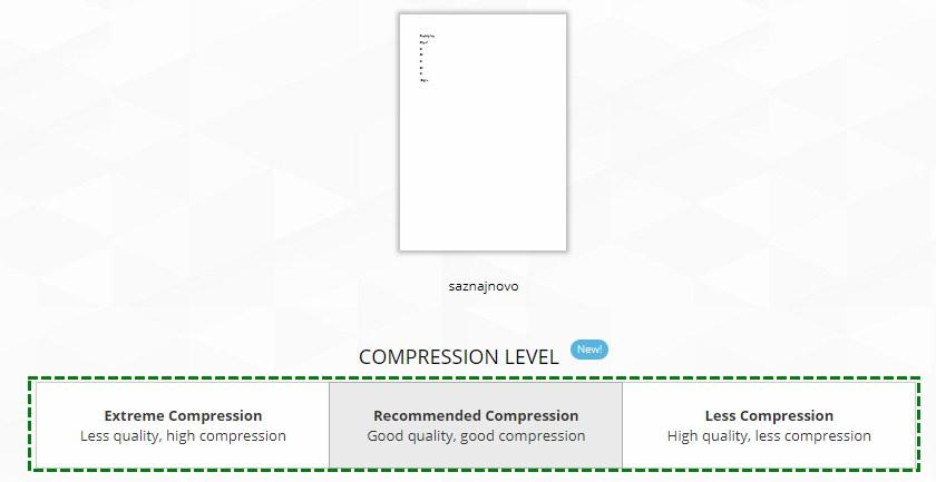 kompresija pdf fajla
