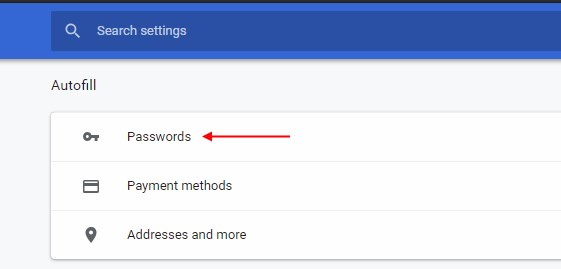 chrome ukloniti login lozinku