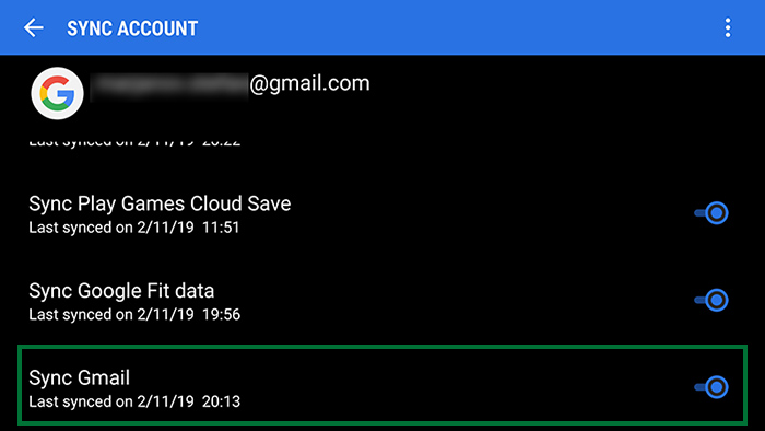 gmail-android-sync
