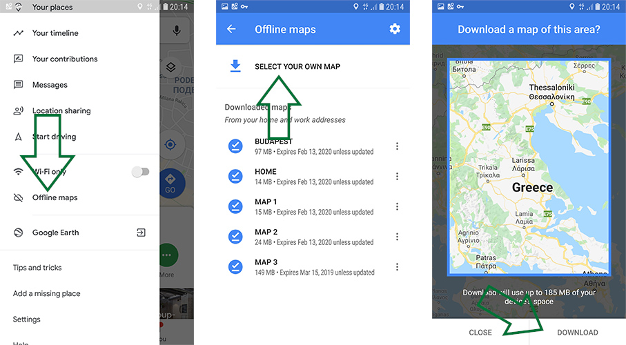 google-maps-offline-map-download