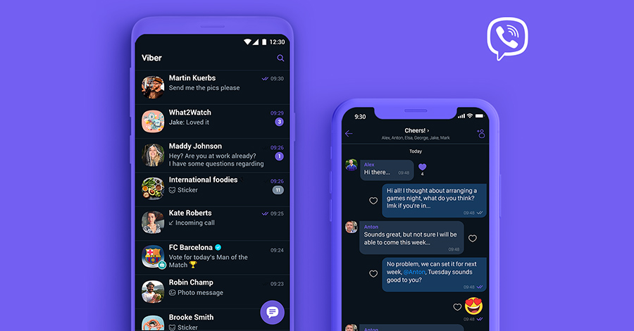 viber-dark-mode