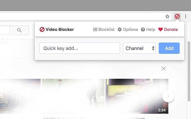 video spoiler blocker chrome