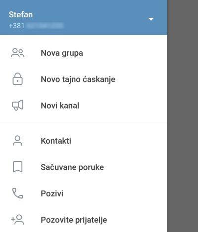 telegram srpski prevod