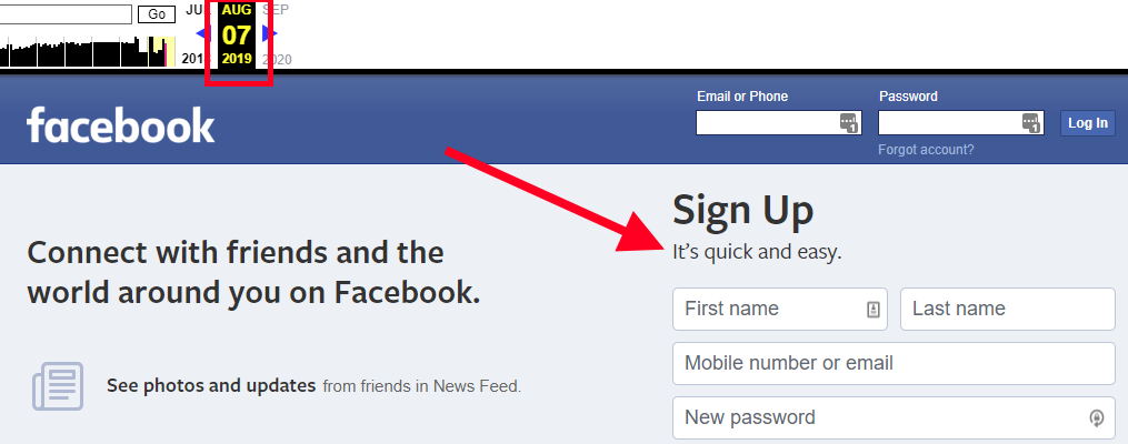 facebook its quick and easy