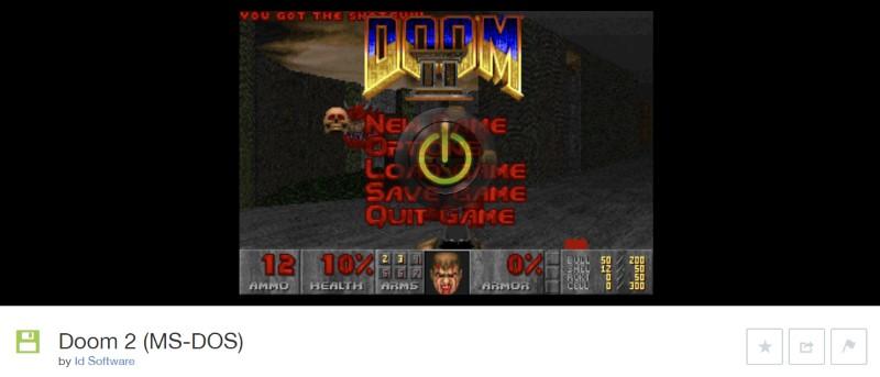 doom 2 ms-dos online
