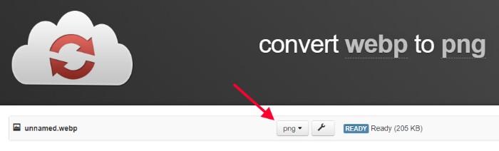 konvertuj webp u png