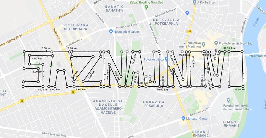 google-mape-povrsina