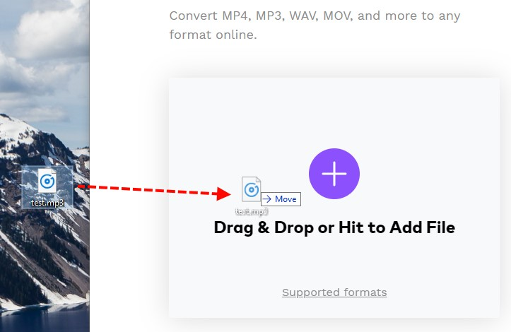 konvertovati audio fajl online