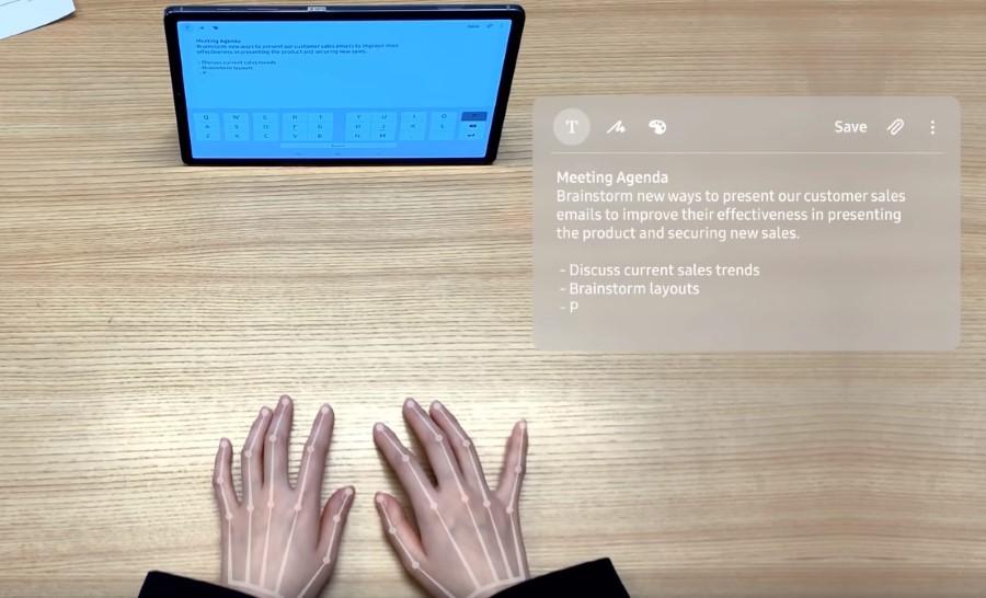 samsung nevidljiva tastatura