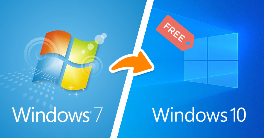 windows 7 na windows 10 besplatno