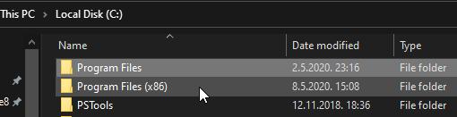 program files 64 32 bit