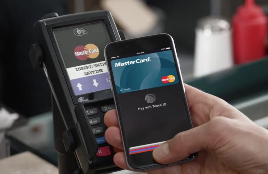 apple pay mastercard pos